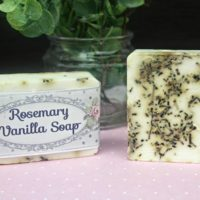 Homemade Rosemary Vanilla Soap Recipe