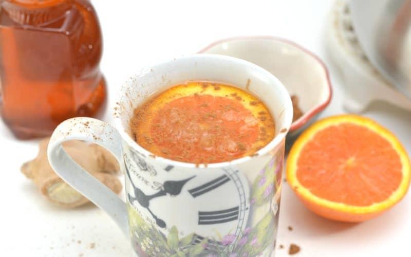 Orange Spice Detox Tea