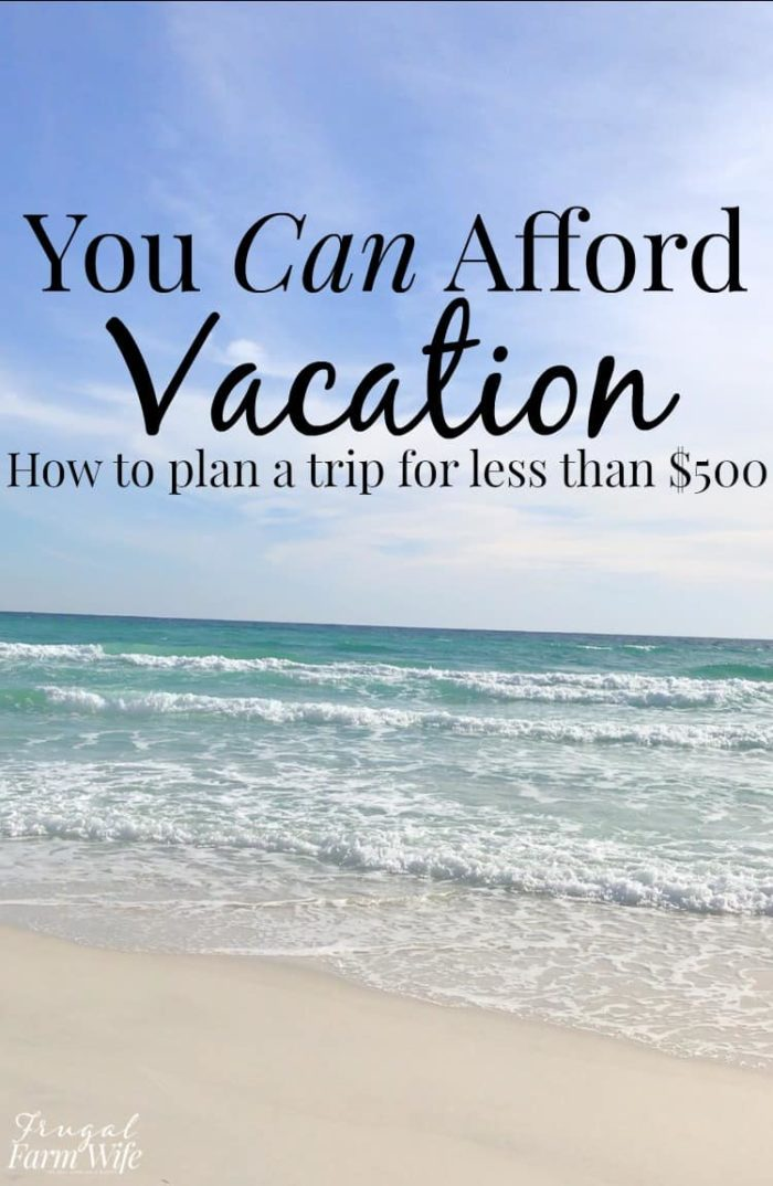 how to plan an affordable weekend trip