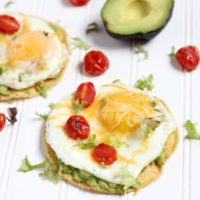 Simple Breakfast Tostadas