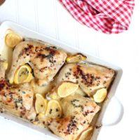 Simple Baked Chicken Piccata Recipe