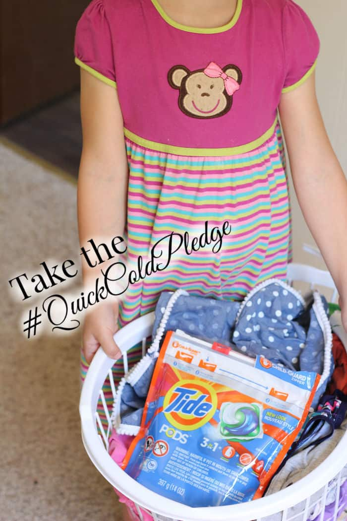 Take the tide quick cold pledge