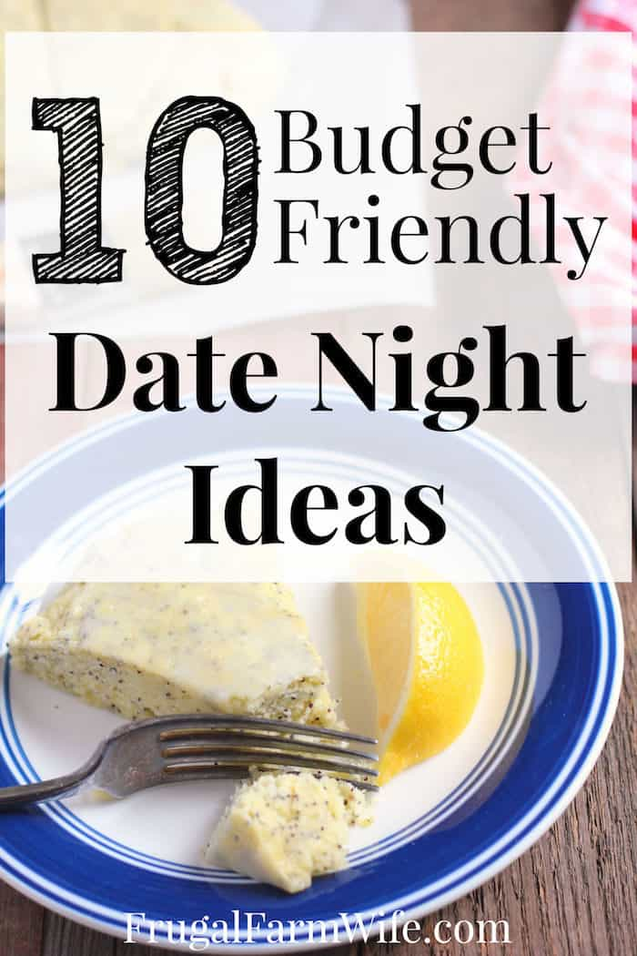 Your budget should never hinder you from dating your spouse! Check out these 1- budget friendly date night ideas!