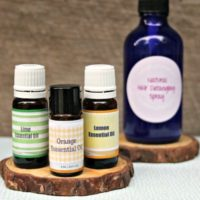 DIY Hair Detangler With Essential Oils