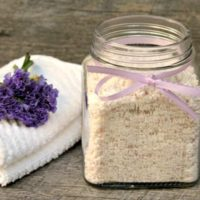 Lavender-Lemon Homemade Laundry Detergent Without Borax