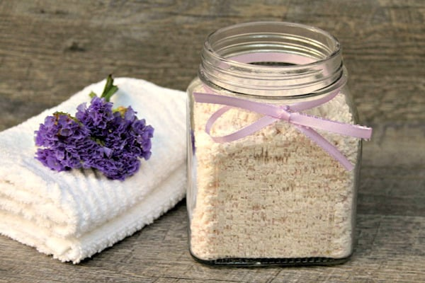 homemade lemon lavender laundry detergent