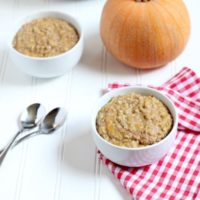 Instant Pot Pumpkin Steel Cut Oats
