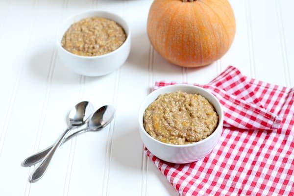 pumpkin steel cut oats