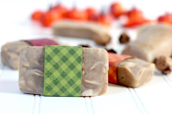 cold process goat milk soap with fall spices