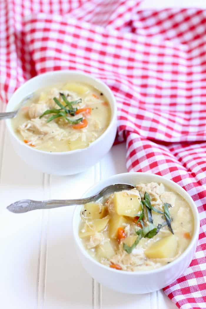 quick and easy chicken soup recipe