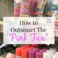 The Pink Tax And What You Can Do About It