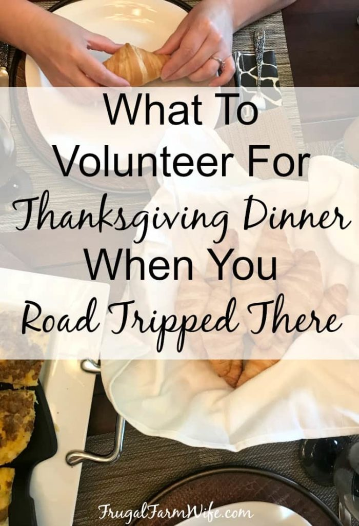 What to take to Thanksgiving Dinner When You Live 800 Miles Away