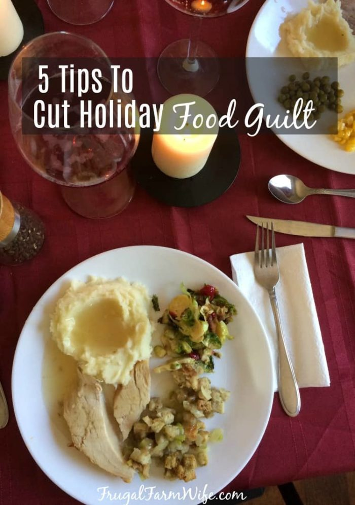 Why do the holidays bring so much guilt? Why are we so afraid we might gain five pounds? Follow these tips and you won't have to worry about it!