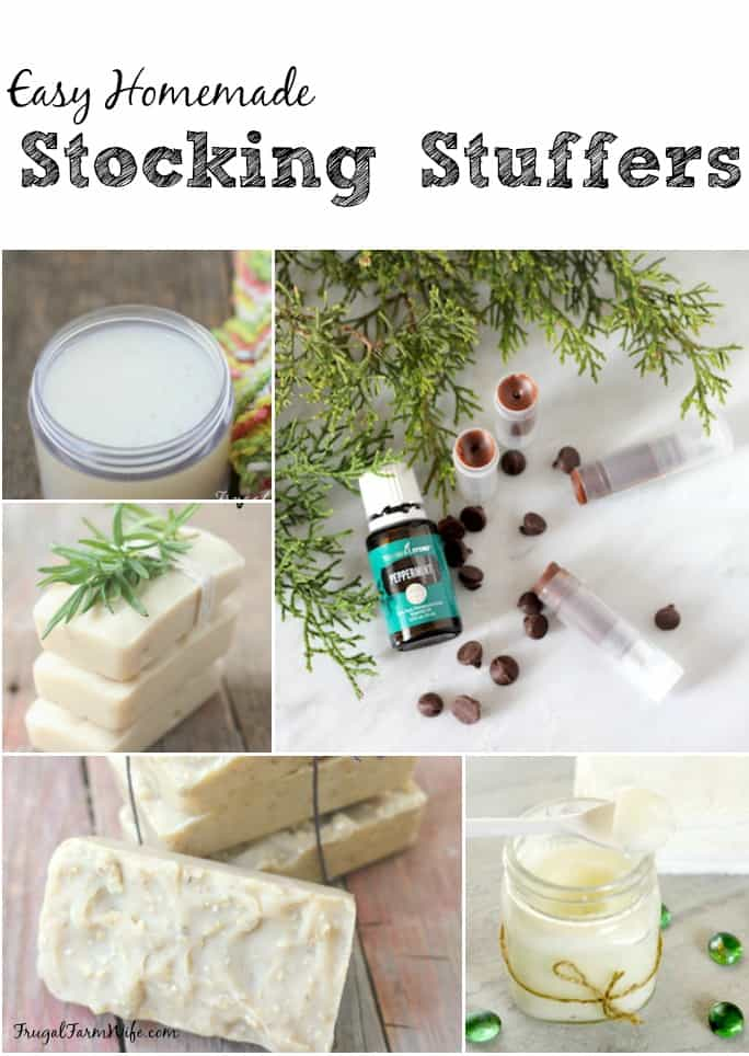 small gifts you can give everyone! Homemade stocking stuffers