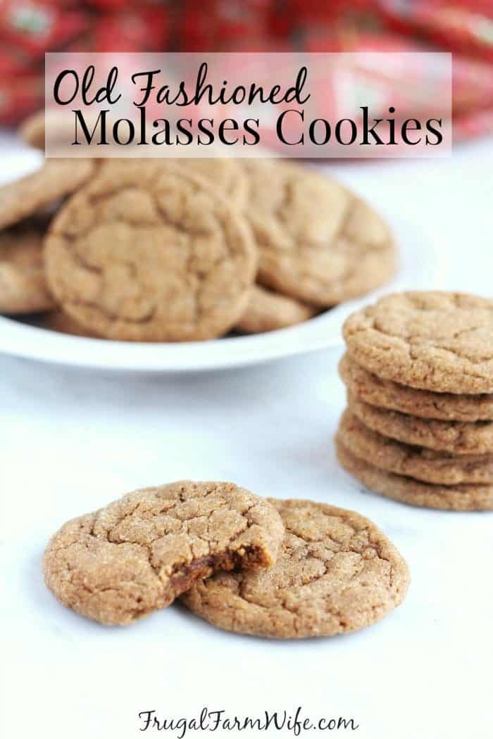 If you haven't tried old fashioned molasses cookies, you don't know what you're missing! This gluten-free version is soft and chewy, spicy and sweet with that distinct molasses flavor that makes them so unique.