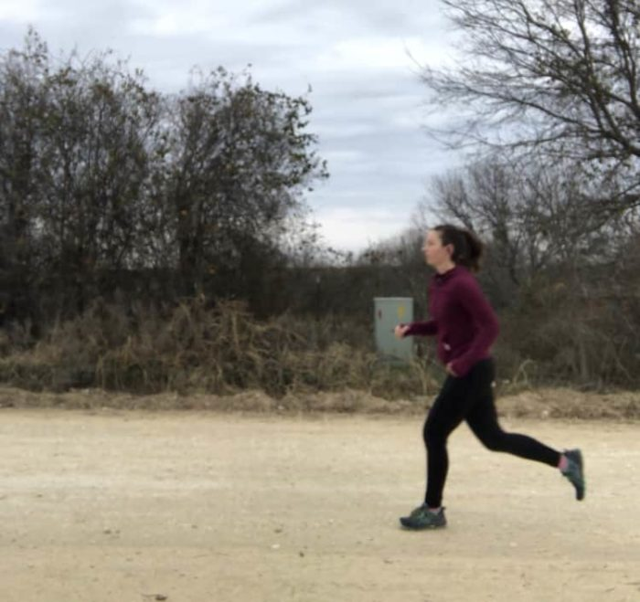 training to run a 15k race