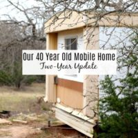 Mobile Home Repair – Two Year Update