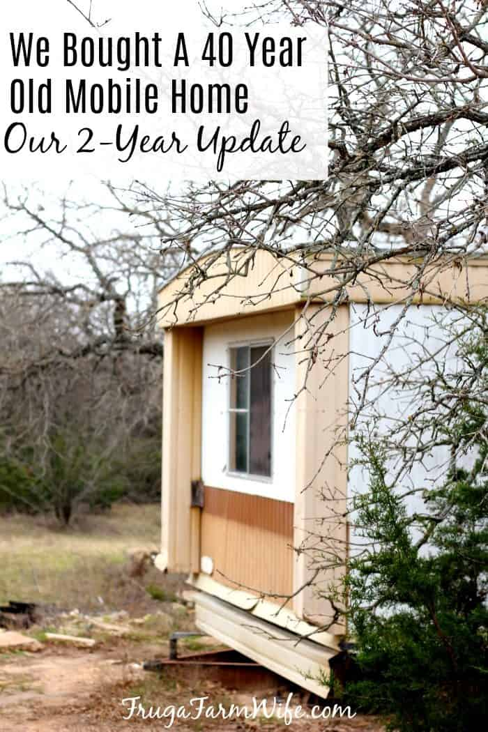 Two-Year update on our on mobile home repair.