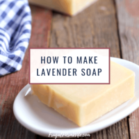 Handmade Lavender Soap Recipe