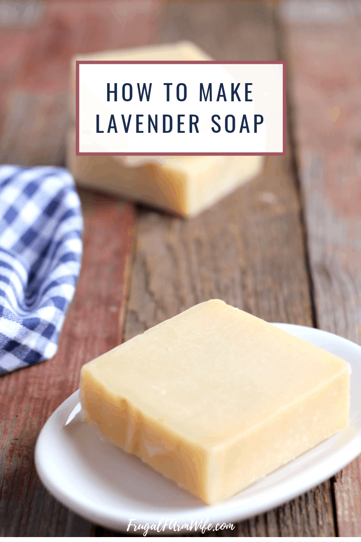 Looking for a simple handmade lavender soap recipe to get your started on your soap making journey? You're in the right place!