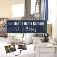 Our Mobile Home Remodel – All in One Place