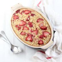 Strawberry Baked Oatmeal Recipe
