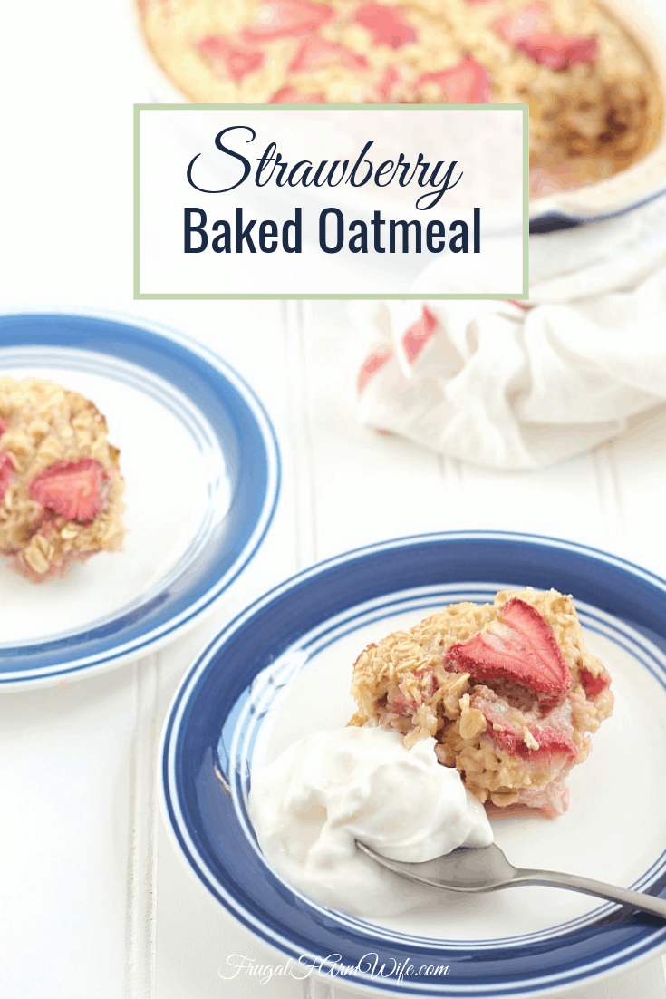 This recipe for strawberry baked oatmeal is a celebration of springtime and strawberry season! You'll love how easy it is to make, and adore the fresh strawberry flavor.