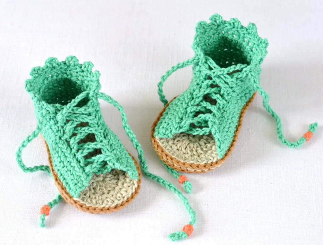 gladiator style crochet sandals for baby pattern