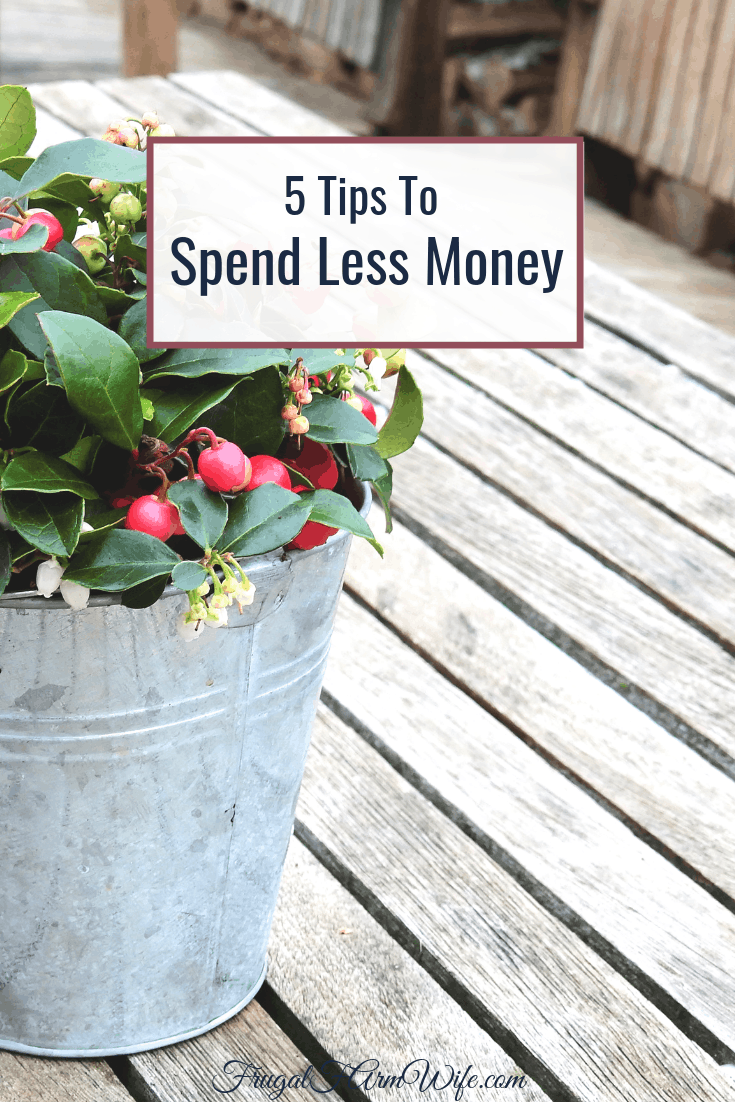 These 5 tips will show you exactly how to spend less money!
