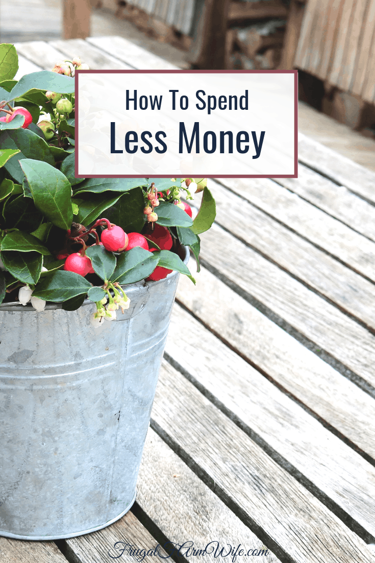 How to spend less money with five actionable tips.