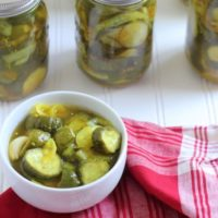 Old Fashioned Bread and Butter Pickles