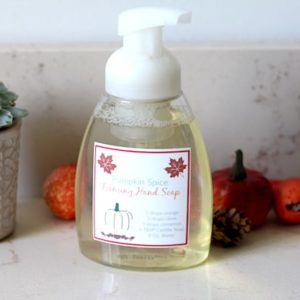 Pumpkin Spice Foaming Hand Soap Recipe