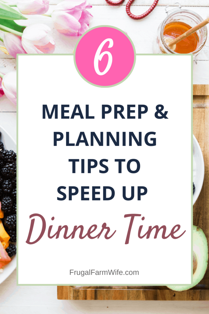 Get dinner on fast using these 56 tips to speed up dinner time