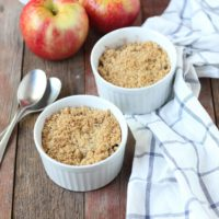 Cracked Millet Apple Crisp