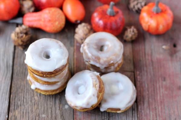 baked pumpkin spice donuts gluten-free