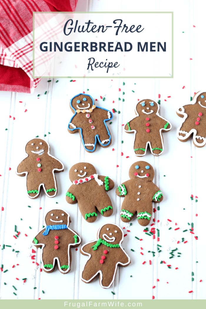 This gluten-free gingerbread man recipe is perfect for your fun allergy-friendly holiday traditions!