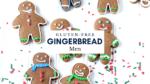 kids icing gluten-free gingerbread men