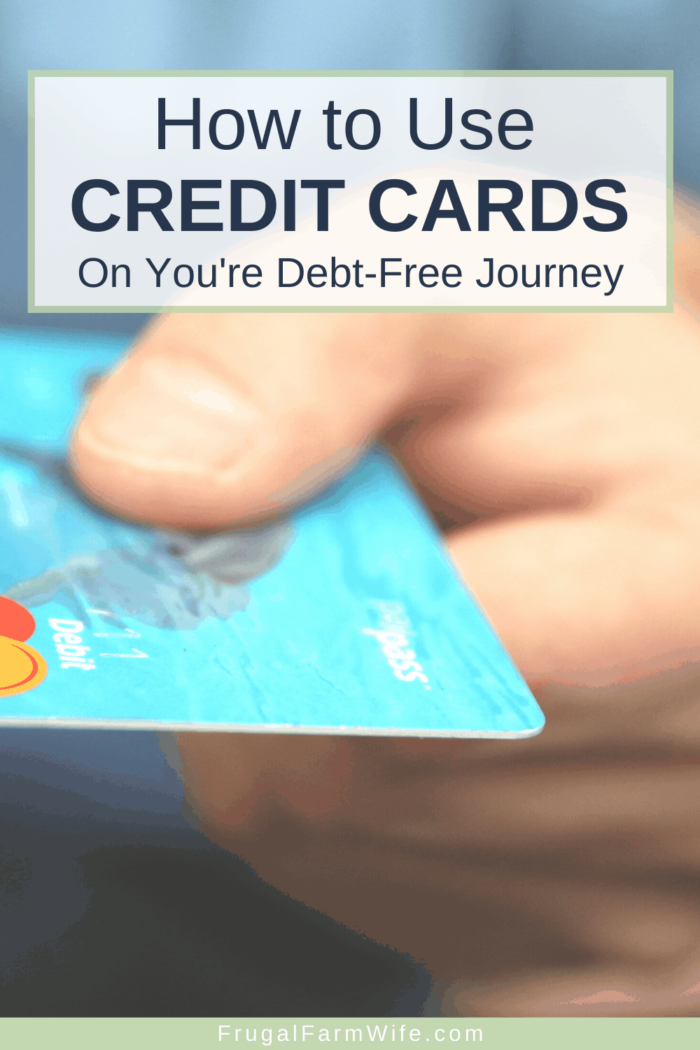 Are credit cards always bad news? You may be surprised by the answer. Here's how to use credit cards on your debt-free journey.