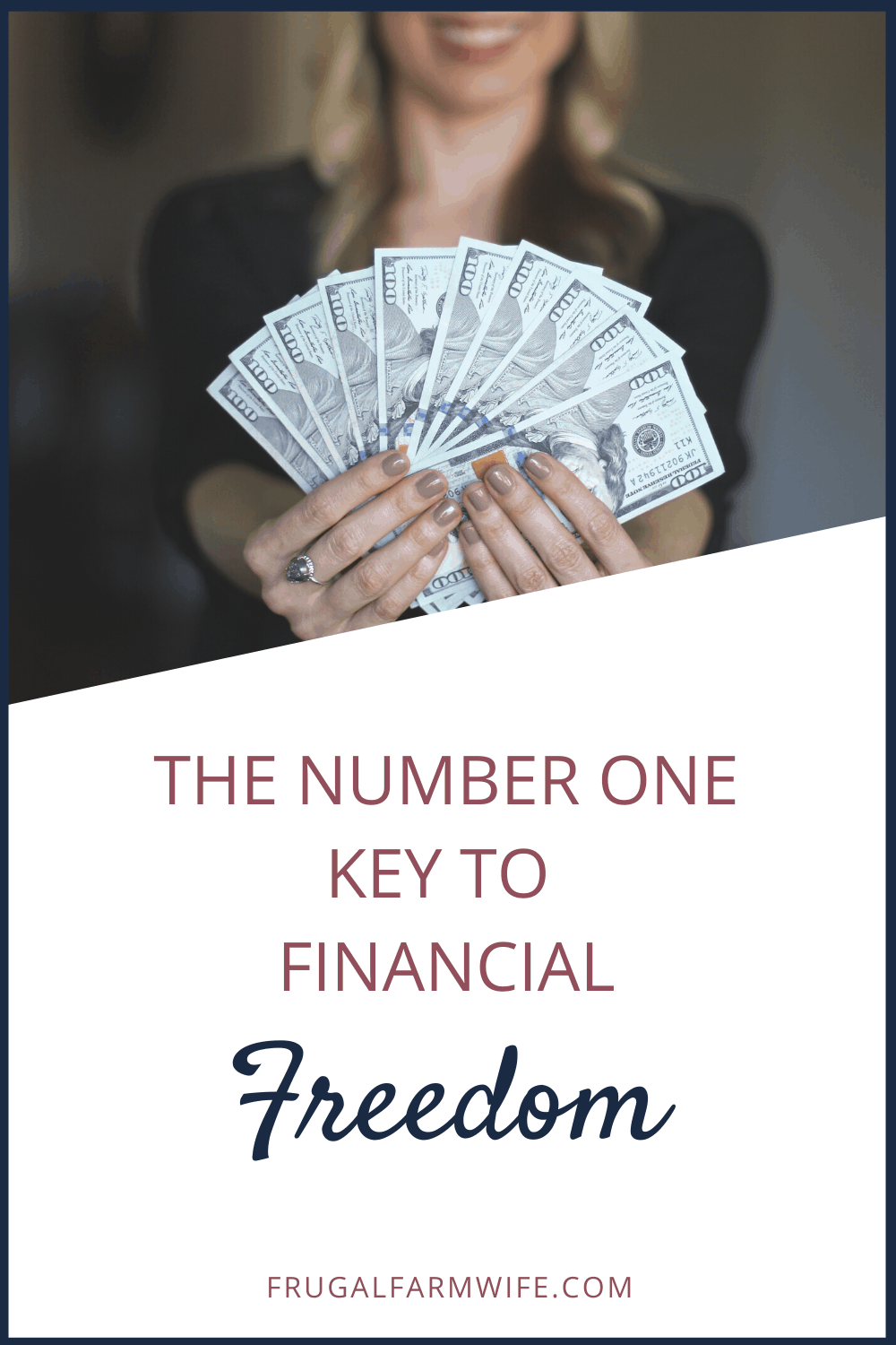 the key to financial freedom isn't what you think - and anybody can have it!
