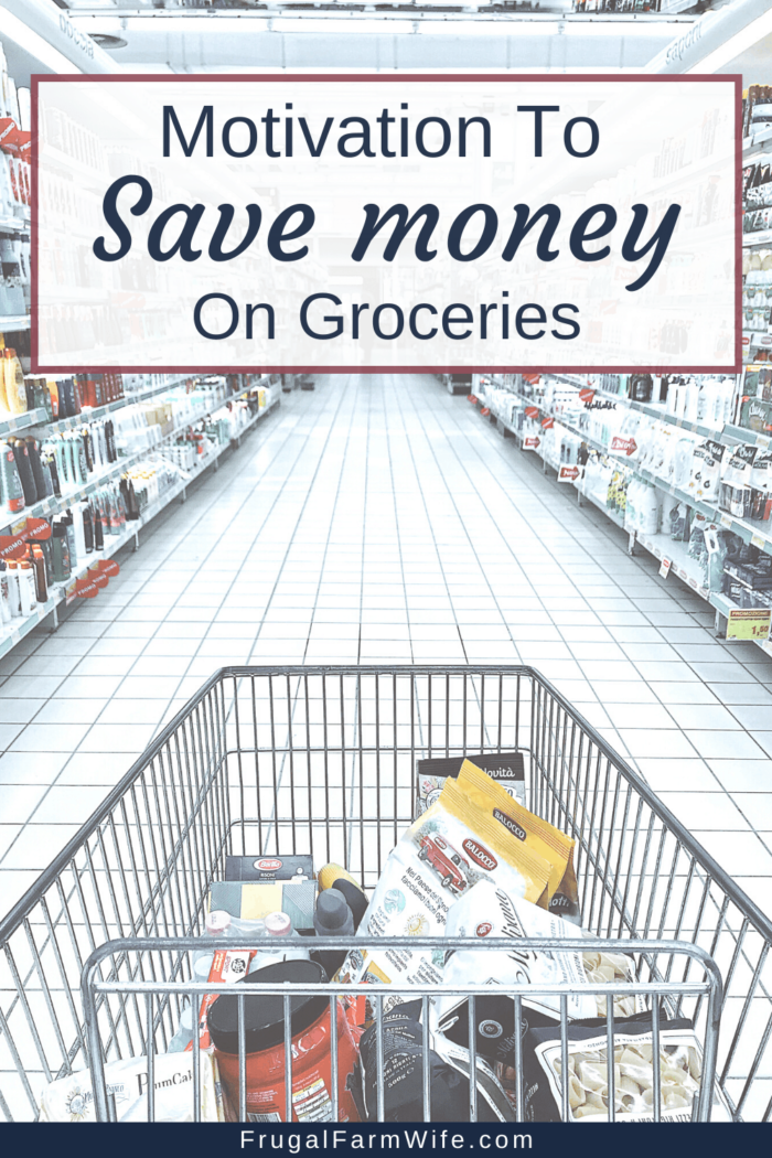 Why You should save money on groceries - it's an important part of your budget!