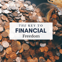 The Number One Thing You Need to Go From Barely Getting By, To Financially Free