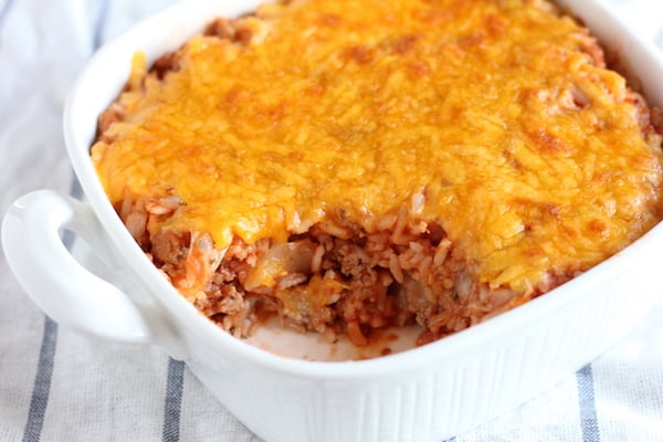 cabbage roll casserole an easy dinner recipe
