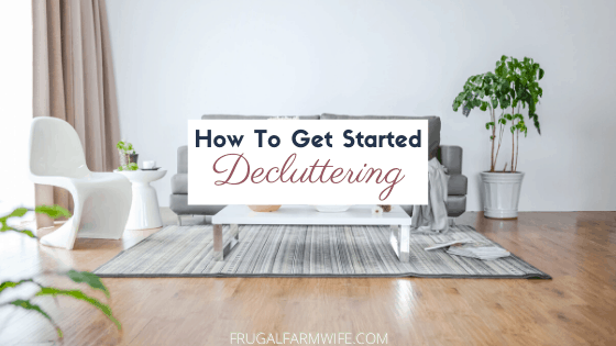 5 Easy Ways to Get Started Decluttering