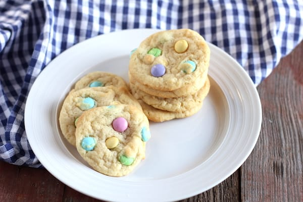 m and m cookies for easter that are gluten free