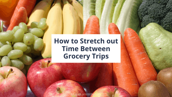 stretch out your grocery shopping trips!