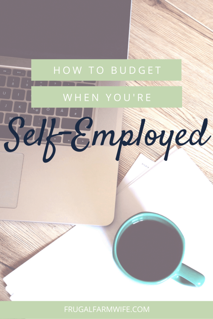 Budgeting for self-employement