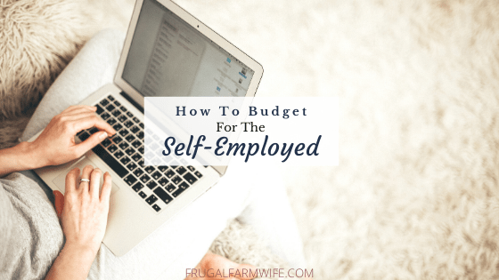 How to budget for self-employed people