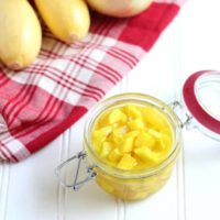 summer squash and onion pickles