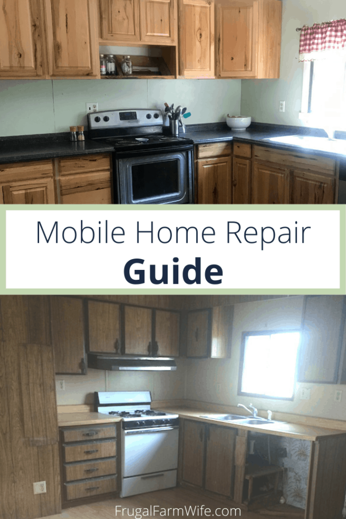 Are you thinking about buying a used mobile home? This mobile home repair guide will help you in the process!