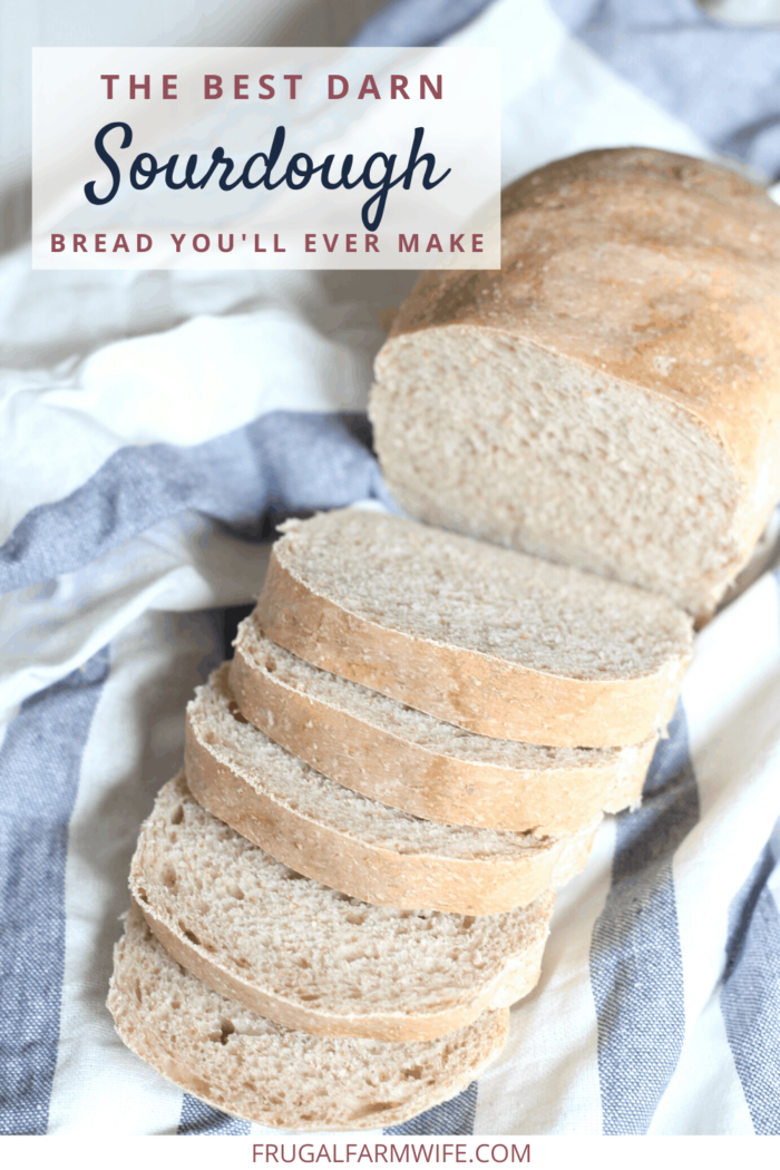 The best sourdough bread you'll ever make! So soft and fluffy - perfect for sandwiches.